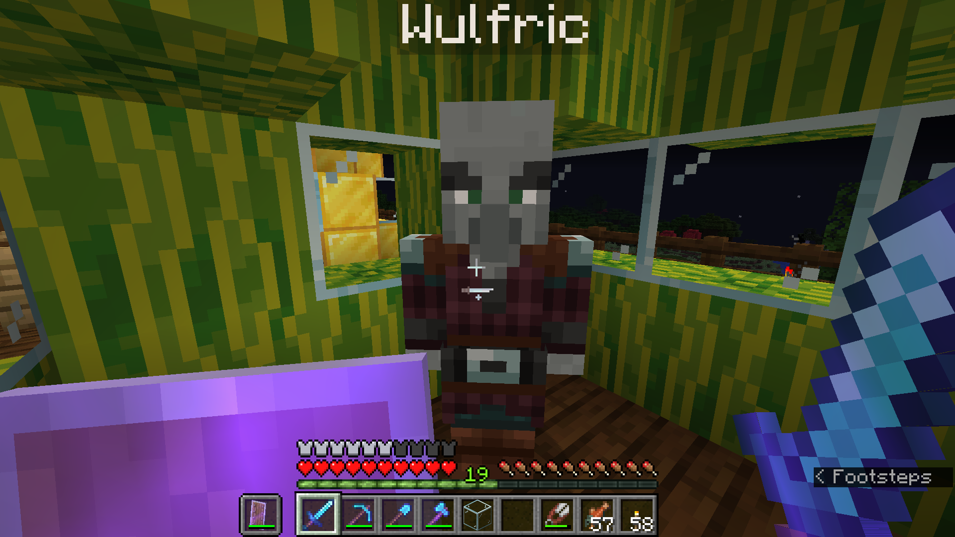 Wulfric in his melon house